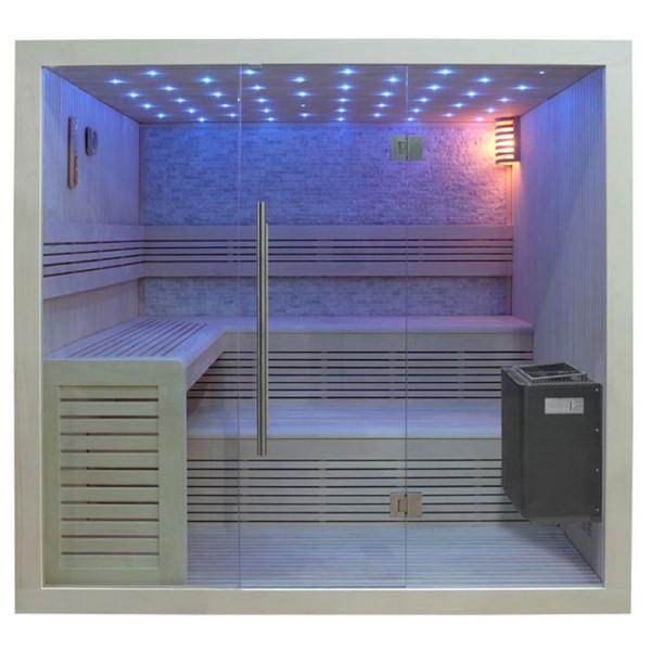 eo spa sauna b1102b populier 200x170 9kw eos bio thermat elite wellness. Black Bedroom Furniture Sets. Home Design Ideas