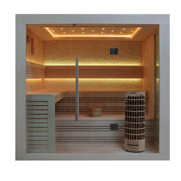 Eo Spa Sauna E1247a Populier 220 180 9kw Cilindro